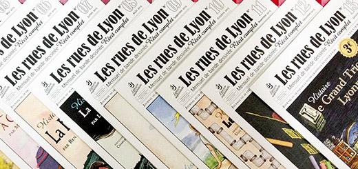 """Le journal """"Les Rues de Lyon"""""""