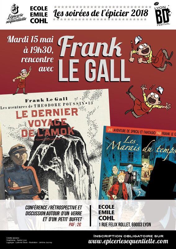 Soirée de l'épicier spécial Frank Le Gall